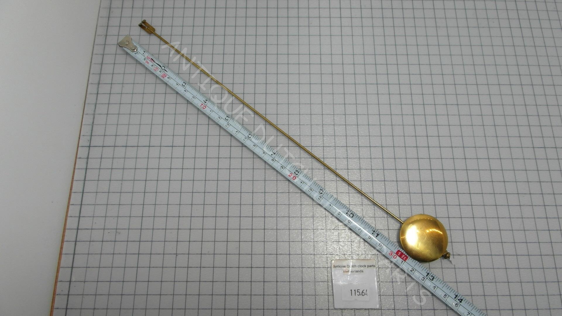 anbcollectibles Cuckoo Clock Pendulum Hanger 3-1/2 Long Home Dcor ...